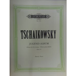EDITION PETERS - Tschaikowsky Album Per La Gioventu' Op 39 Per Pian