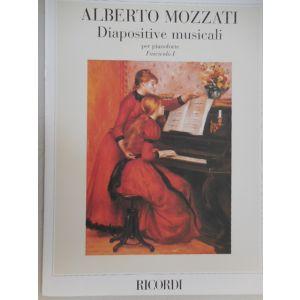 RICORDI - A.Mozzati Diapositive Musicali Per Pianoforte Fa