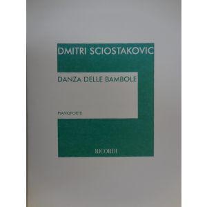 RICORDI - D. Sciostakovic Danza Delle Bambole Per Pianoforte