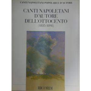 RICORDI - Canti Napoletani D'autore Dell'ottocento(1835-1898