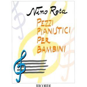 RICORDI - N.Rota Pezzi Pianistici Per Bambini