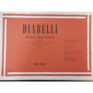RICORDI - Diabelli Pezzi Melodici Op 149 Per Pianoforte A 4 mani