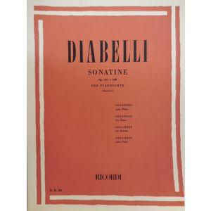 RICORDI - Diabelli Sonatine Op. 151 E 168 Per Pianoforte