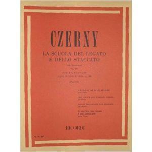 RICORDI - Czerny La Scuola Del Legato E Dello Staccato 50 Es