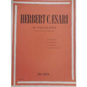 RICORDI - Herbert-Caesari 50 Vocalises