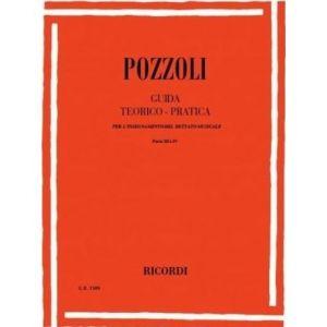 RICORDI - Pozzoli Guida Teorico Pratica(dettato Musicale)par
