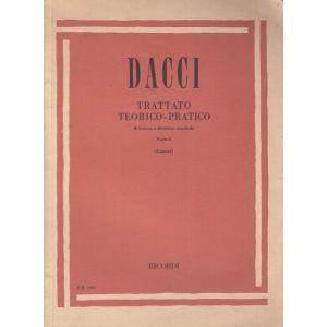RICORDI - Dacci Trattato Teorico Pratico Parte I