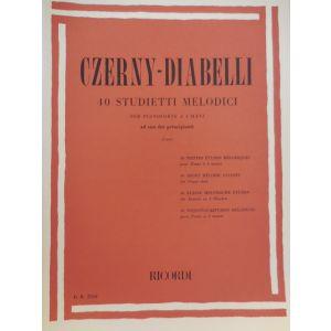 RICORDI - Czerny-diabelli 40 Studietti Melodici Per Pianoforte