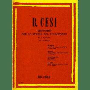 RICORDI - B.Cesi Metodo Per Pianoforte Fasc.III Arpeggi