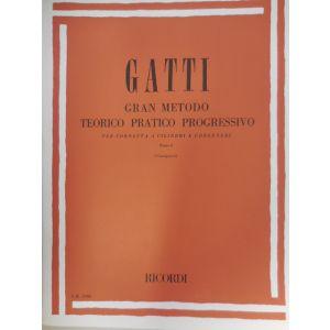 RICORDI - Gatti Gran Metodo Teor/prat.progr.cornetta A Cilindri