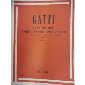 RICORDI - Gatti Gran Metodo Teor/prat.progr.cornetta Cilindri