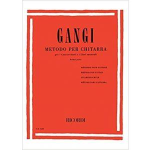 RICORDI - Gangi Metodo Per Chitarra (Conservatori E Licei Musicali)