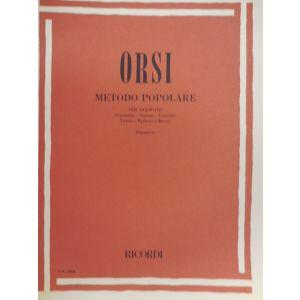 RICORDI - Orsi Metodo Popolare Per Saxofono