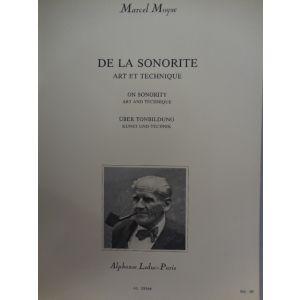 LEDUC - M.Moyse De La Sonorite Art Et Technique Flute