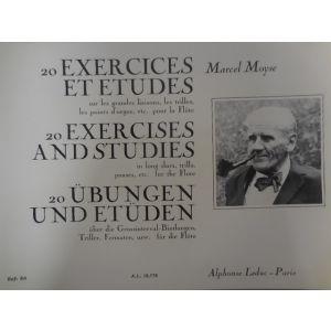 LEDUC - M.Moyse Exercise Et Etudes sur les Grandes Liaisons Pour La Flute