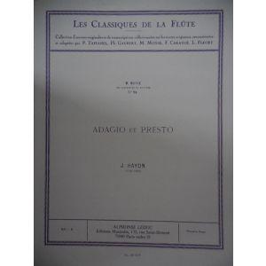LEDUC - M.Moyse Adagio Et Presto ranz Joseph Haydn Les Classiques De La Flute