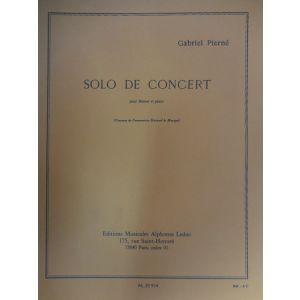 LEDUC - G.Pierne Solo De Concert Pour Bassoon Et Piano