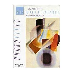 BOOSEY & HAWKES - S.Prokofieff Musiques D'enfants Op.65 12 Pieces piano solo