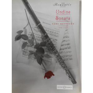 BOOSEY & HAWKES - C.Reinecke Undine Sonata (the Romantic Flute) FLUTE AND PIANO Classical sheets Transverse Flute