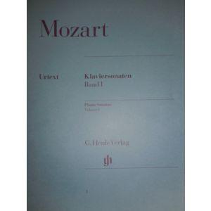 G.HENLE VERLAG - Mozart Sonata Per Pianoforte Vol.1 R Pianoforte V