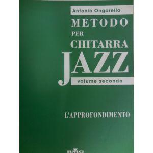 RICORDI - A.Ongarello Metodo Per Chitarra Jazz Vol.2 -l'appr