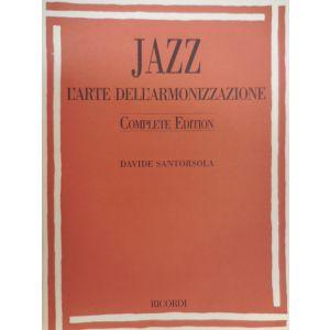 RICORDI - D.Santorsola Jazz L'arte Dell'armonizzazione