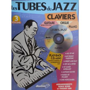 CARISCH - Les Tubes Du Jazz Claviers,guitare,piano Cd Vol.3