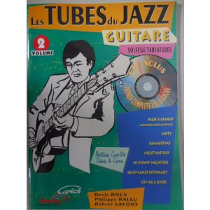 CARISCH - Roux, Rallu,Lafont Les Tube Du Jazz Guitare Solfege