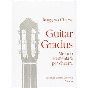 SUVINI ZERBONI - R.Chiesa Guitar Gradus (metodo Elementare Per chitarra