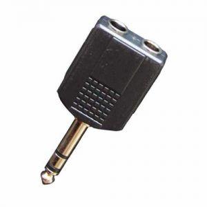 BESPECO - Ad30 Adattatore Jack 6.3 Stereo/m > 2 X Ja