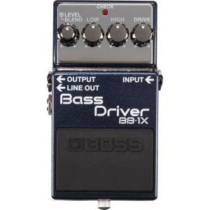 BOSS - Bb-1X Bass Driver Effetto a pedale per basso elettrico