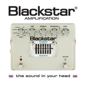 BLACKSTAR - Ht-delay Effetto a pedale per chitarra elettrica 8 Modalità Di Delay
