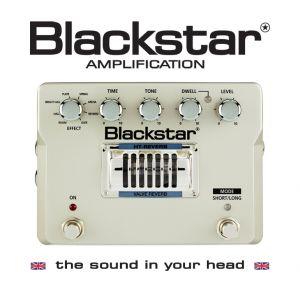 BLACKSTAR - Ht-reverb effetto a pedale per chitarra elettrica 8 Modalita' di Riverbero Valvolare