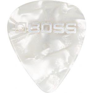 BOSS - Bpk-72-wm Pack 72 Plettri Medium White Pearl