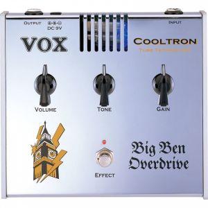 VOX - Cooltron Big Ben Overdrive TUBE TECHNOLOGY effetto a pedale valvolare per chitarra elettrica
