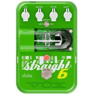 VOX - Straight 6 Drive EFFETTO OVERDRIVE VALVOLARE a pedale per chitarra elettrica