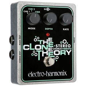 ELECTRO HARMONIX - Stereo Clone Theory Analog Chorus/vibrato effetto a pedale per chitarra elettrica
