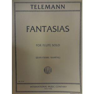 INTERNATIONAL MUSIC COMPANY - Telemann Fantasias For Flute Solo