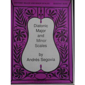 EDIZIONI MUSICALI RIUNITE - A.Segovia Diatonic Major And Minor Scales