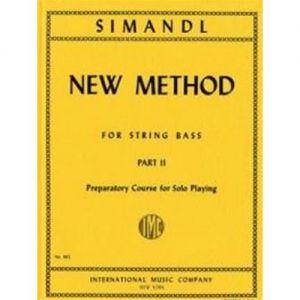 INTERNATIONAL MUSIC COMPANY - Simandl New Method For String Bass Part II