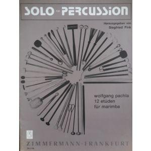 ZIMMERMANN - Siegfried Fink Solo per Percussion per Marimba 12 Etude