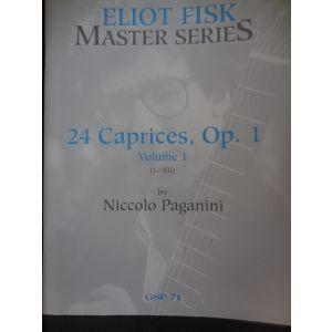 CARISCH - Eliot Fisk Master Series 24 Caprices , Op.1 Vol.1