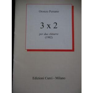 CURCI - Oronzo Persano 3x2 Per Due Chitarre (1982)