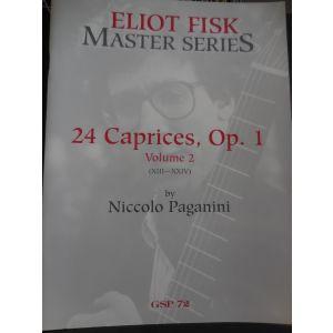 CARISCH - Eliot Fisk Master Series 24 Caprices Op.1 Vol.2