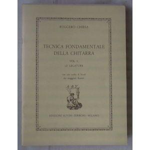 SUVINI ZERBONI - R.Chiesa Tecnica Fondamentale Della Chitarra Vol.i