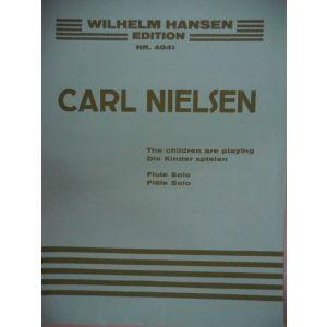 WILHEIM HANSEN - C.Nielsen The Children Are Playing Flute Solo