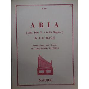 EDIZIONI MUSICALI RIUNITE - J.S.Bach Aria ( Dalla Suite N¦3 In Re Maggiore)per