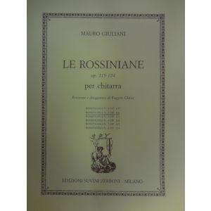 SUVINI ZERBONI - M.Giuliani Le Rossiniane Op.119-124 Per Chit. ( Ro