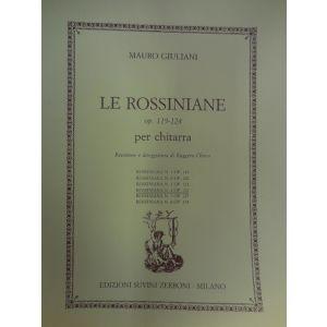 SUVINI ZERBONI - M.Giuliani Le Rossiniane Op.119-124 Per Chit.(ross