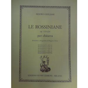 SUVINI ZERBONI - M.Giuliani Le Rossiniane Op 119-124 Per Chit.(ross
